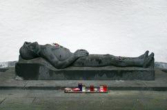 战争坟墓 库存照片