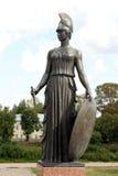 战争女神Pallas雅典娜 免版税库存图片