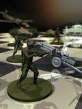 战争战略 免版税库存图片