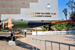 战争残余博物馆在胡志明市 免版税库存图片