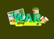 战争的元素 库存图片