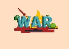 战争的元素 图库摄影