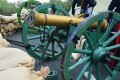 战争的历史重建1812 库存图片