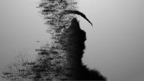 战争的概念 战争带来死亡6 库存照片