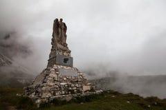 战争的白云岩的踪影, Itay 免版税库存照片