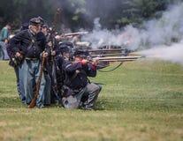 战争的美国人 免版税图库摄影