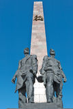 战争纪念碑 库存图片