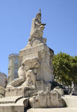 战争纪念碑 免版税库存图片
