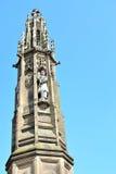 战争纪念建筑在赫里福德在英国,英国 库存图片
