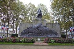 战争纪念建筑在维琪,法国 免版税图库摄影
