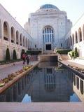 战争纪念建筑堪培拉澳大利亚 免版税图库摄影