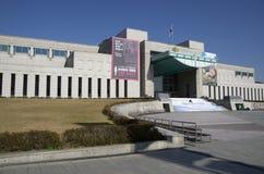 战争纪念建筑韩国外部  免版税库存照片