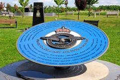 战争纪念建筑,全国纪念树木园 免版税库存图片