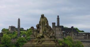 战争纪念建筑,北部桥梁,爱丁堡 免版税库存图片