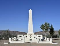 战争纪念建筑,安扎克小山,爱丽斯泉 库存图片