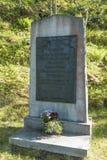 战争纪念建筑Hegra堡垒挪威 库存图片