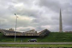 战争纪念建筑Maarjamagi 库存图片