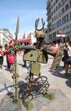 战争雕塑  免版税库存图片