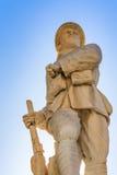 战争雕象 免版税库存照片