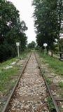 战争死亡铁路在北碧泰国 免版税库存图片