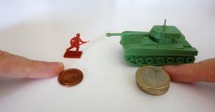 战争(iii)的价格 库存图片