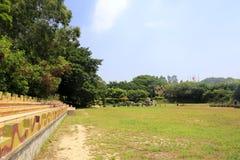 战场公园草甸  库存图片