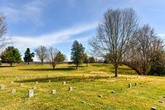 战场- Fredericksburg,弗吉尼亚 库存图片