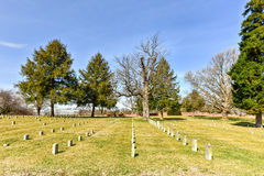 战场- Fredericksburg,弗吉尼亚 免版税库存图片