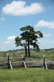 战场gettysburg宾夕法尼亚 库存照片