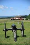 战场gettysburg宾夕法尼亚 免版税库存照片