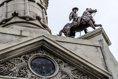 战士和水手纪念碑 图库摄影