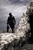 战士在被忘记的地方 免版税图库摄影