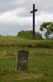 战士墓碑未知 免版税库存图片