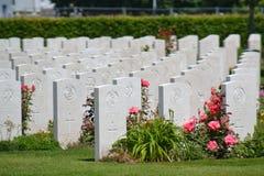 战士墓碑 库存照片