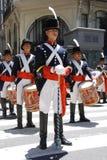 战士服装的人 免版税图库摄影