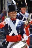 战士服装的人 库存图片