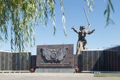 战士的公墓 免版税图库摄影