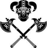 战士的头骨 免版税图库摄影