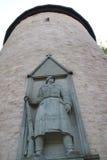战士纪念碑 免版税图库摄影