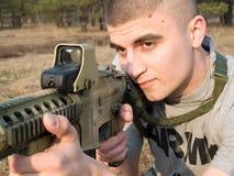 战士美国 免版税库存照片