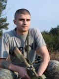 战士美国 免版税库存图片