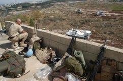 战士联合国 库存照片