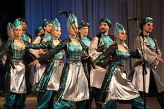 战士舞蹈  库存图片