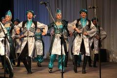战士舞蹈  免版税库存图片