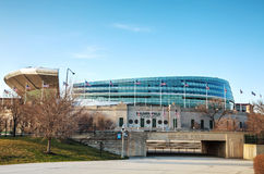 战士领域体育场在芝加哥 库存图片