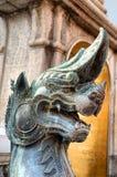 佛教寺庙在曼谷 库存照片