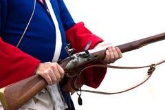 战士从现代世纪 免版税库存图片