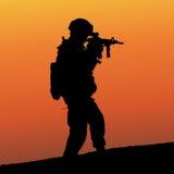 战士 免版税库存图片