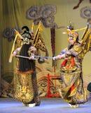 战斗北京歌剧:对我的姘妇的告别 免版税库存图片
