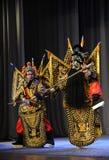 战斗北京歌剧:对我的姘妇的告别 库存图片